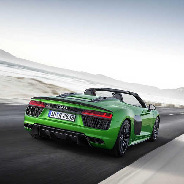 De snelste (open) Audi ooit: R8 Spyder V10 plus