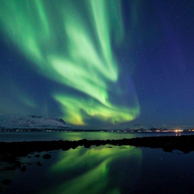 Awesome : Aurora Borealis timelapse HD - Tromsø 2010