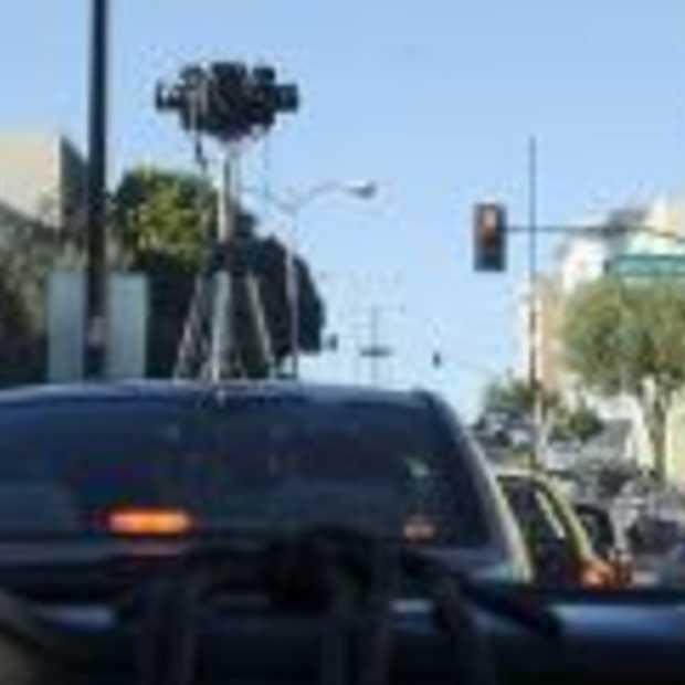 Auto's Google Streetview gaan de weg weer op