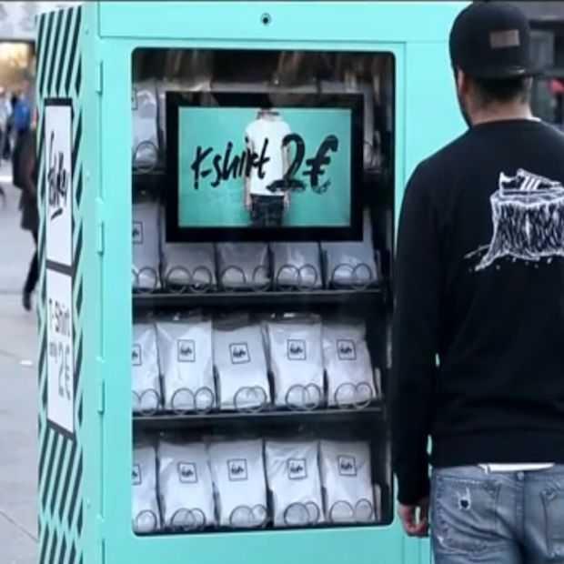 Goedkoop T-shirt uit automaat blijkt dieper liggende boodschap te hebben
