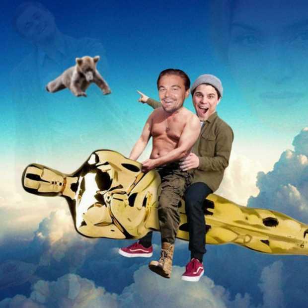 Hilarisch: Belg photoshopt zichzelf in foto's van celebs