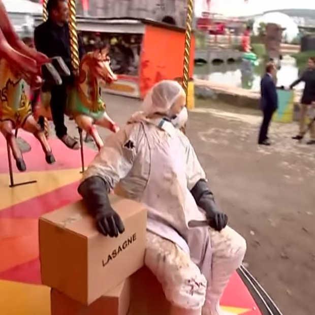 Banksy Dismaland show; een pretpark niet voor kinderen
