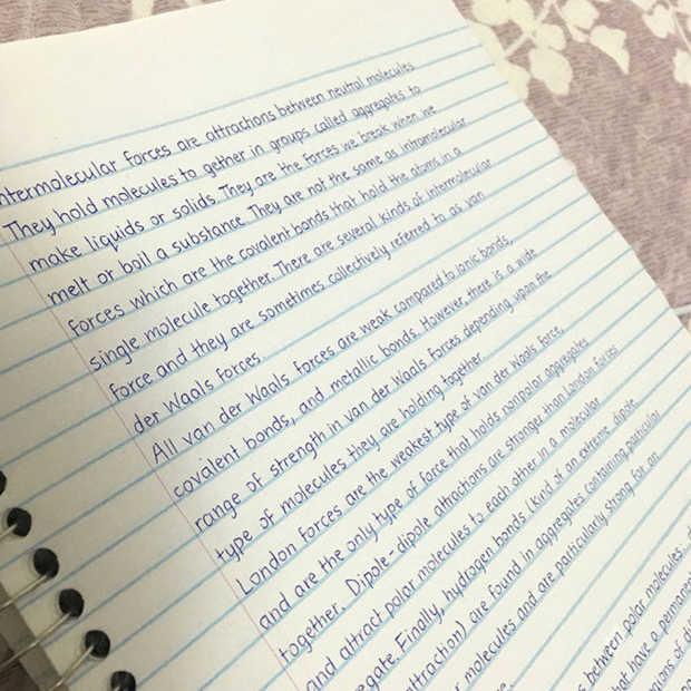 15 perfecte handschriften om jaloers op te worden