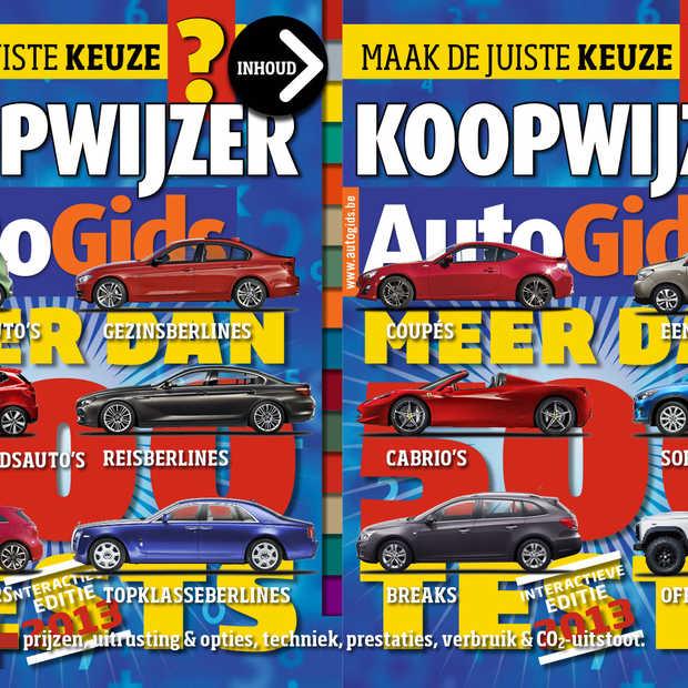 Belgisch tijdschrift AutoGids bundelt 500 autotesten in iPad applicatie