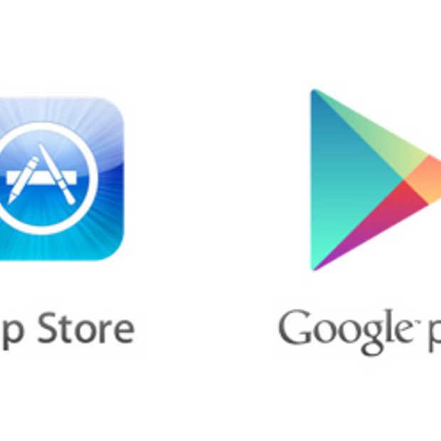 Bijzondere vergelijkingen tussen de App Store en Google Play [Infographic]