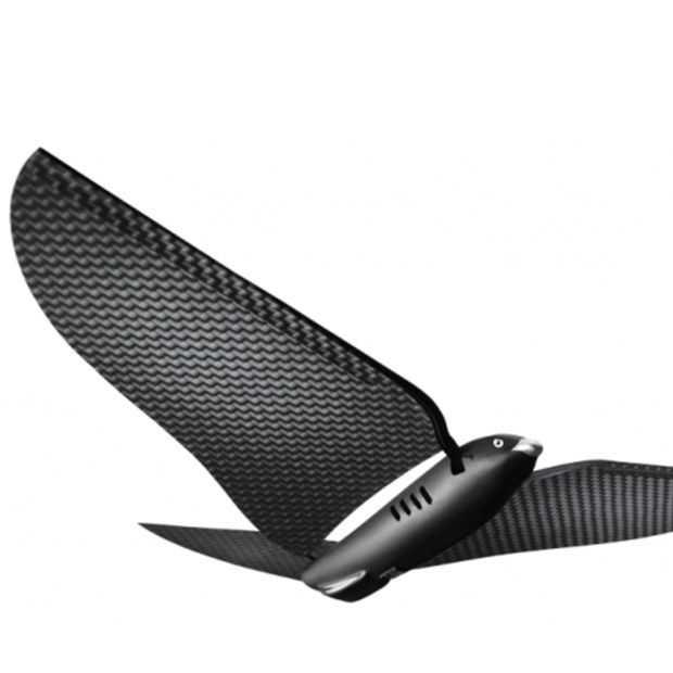 De bionische vogel is niet van echt te onderscheiden