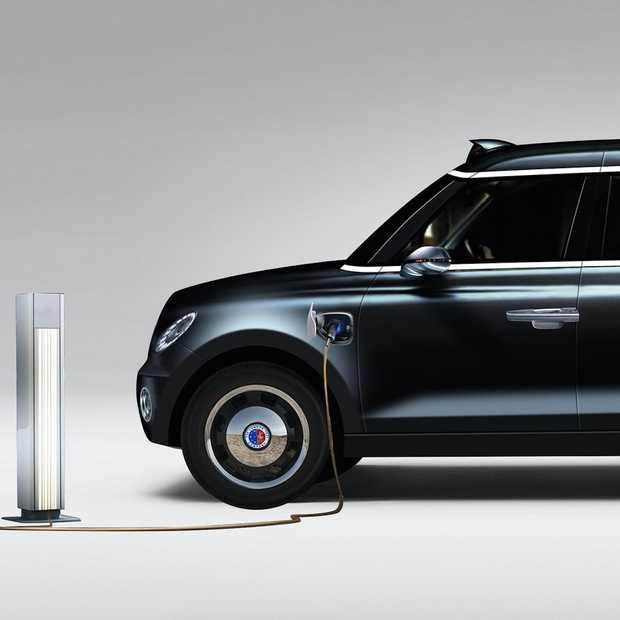 De iconische black cabs in Londen worden elektrisch