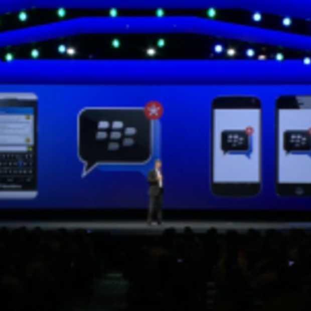 BlackBerry Messenger komt deze zomer naar iOS en Android