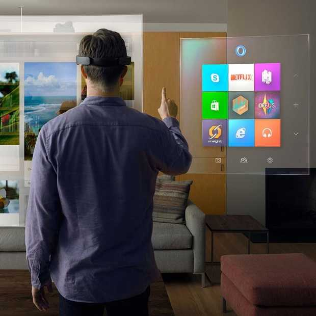 HoloLens: Alternatieve virtual reality van Microsoft