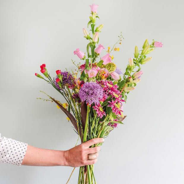 Uber levert vandaag 'Flowers on demand' voor Moederdag