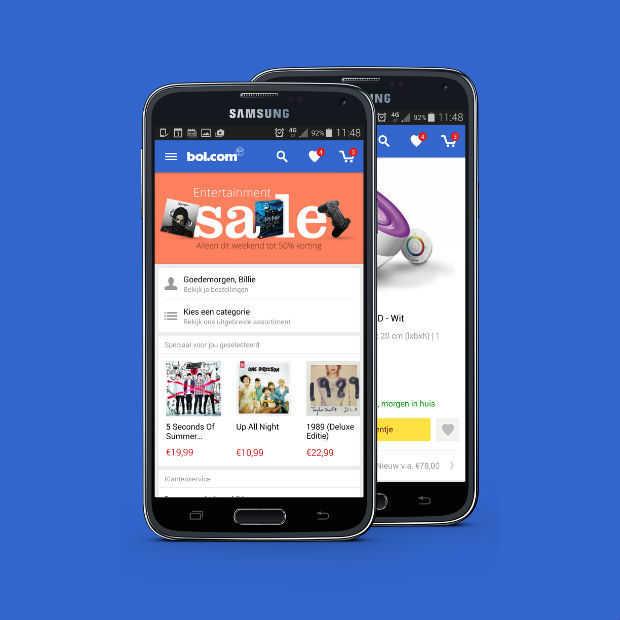 Bol.com app voor Android ondersteunt bestellen met vingerafdruk