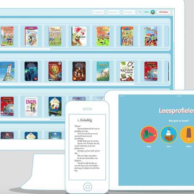 Booqees: Netflix voor kinderboeken