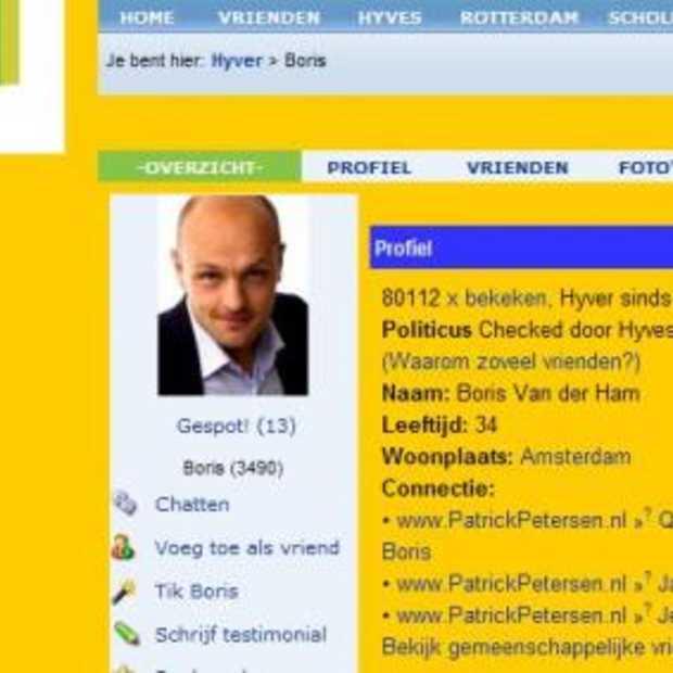 Boris van der Ham meest actieve politieke Hyver