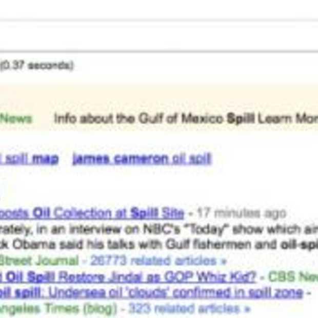 BP koopt zoektermen op Google en Bing over olieramp