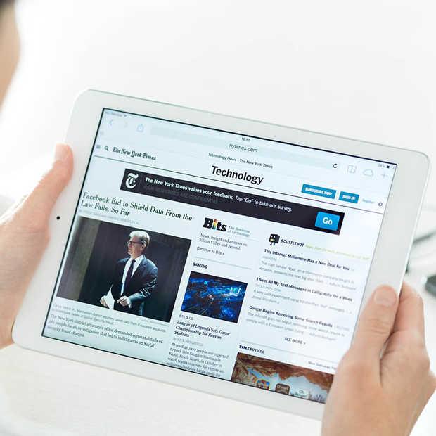 Lezers omarmen branded content in online nieuwsmedia
