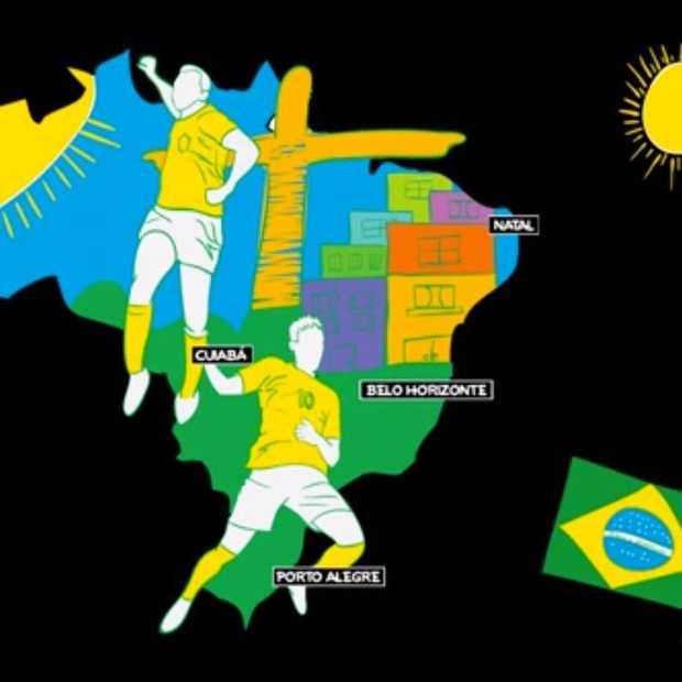 Hoe het WK in Brazilië zou moeten zijn..