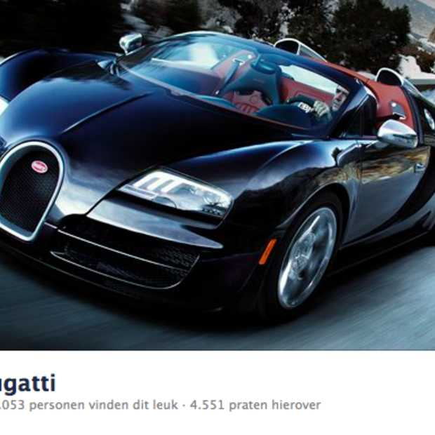 Bugatti goes social, grand sport vitesse op Facebook, Twitter en Youtube