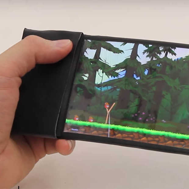 Flexibele smartphones zitten er echt aan te komen