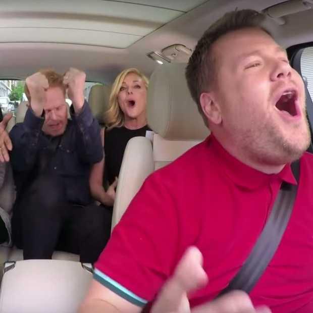 Nieuwe Carpool Karaoke: Broadway hits