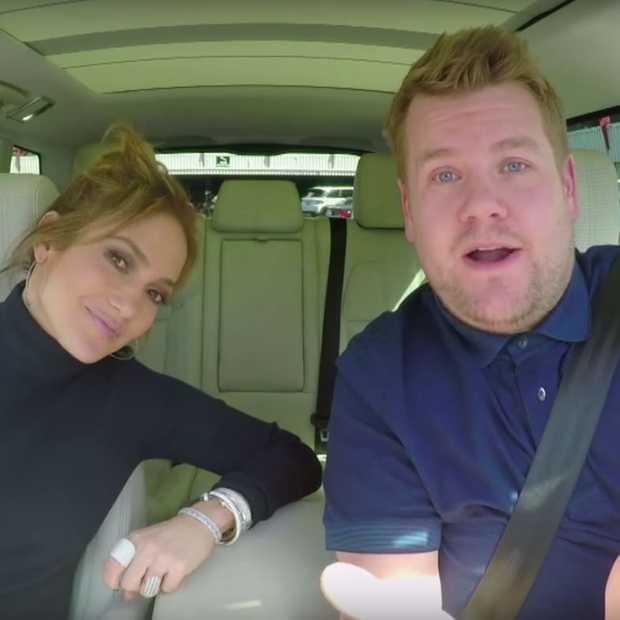 James Corden Carpool Karaoke met Jennifer Lopez