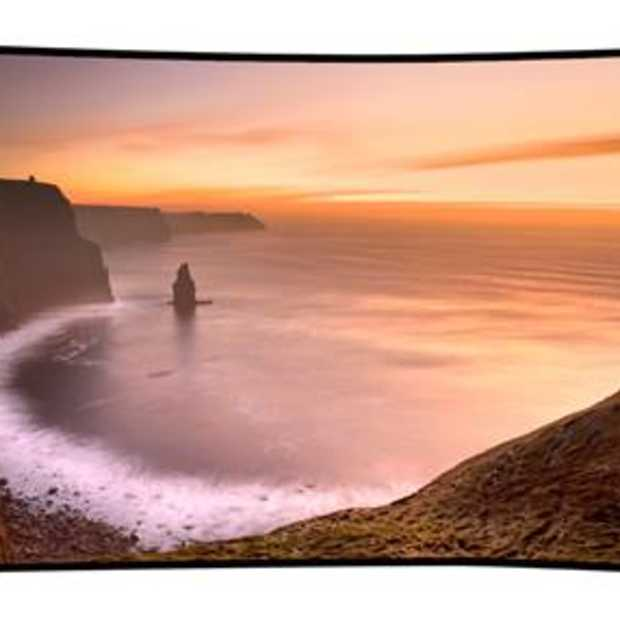 CES: Samsung onthult eerste Curved UHD TV's