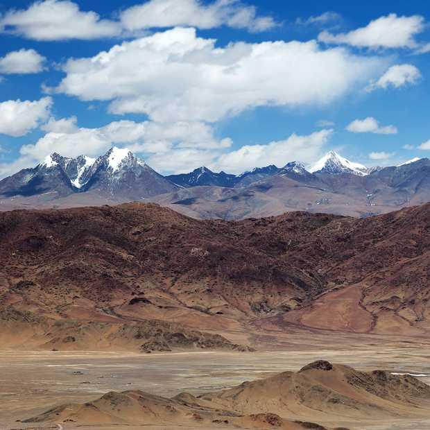 China bouwt planeet Mars na in de woestijn