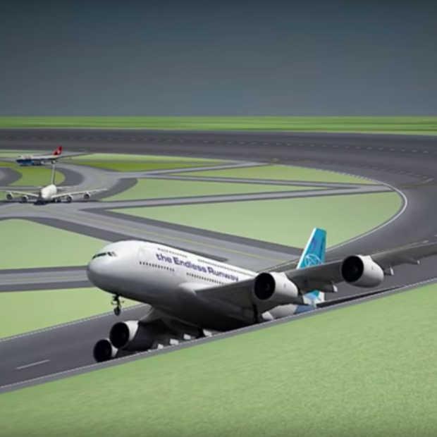 Zijn cirkelvormige landingsbanen de toekomst voor luchthavens?