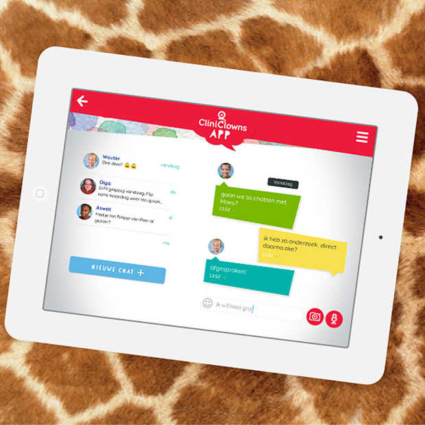 Nieuwe app maakt digitaal spelen met CliniClowns mogelijk