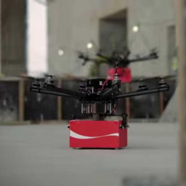 Coca Cola zet drones in voor nieuwe campagne