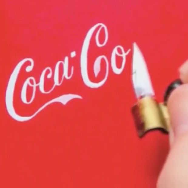 Zien! Designer schetst bekende logo's uit losse pols