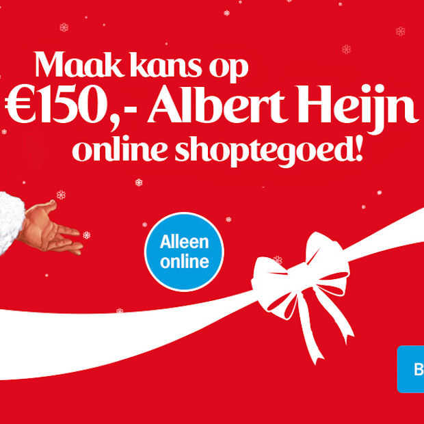 Maak kans op €150 AH online shoptegoed!