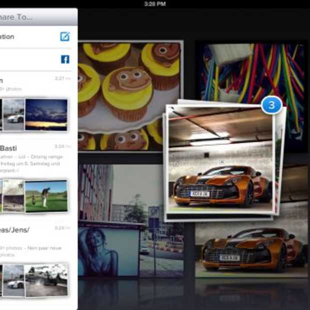 Cooliris: populaire foto-app nu ook op Facebook