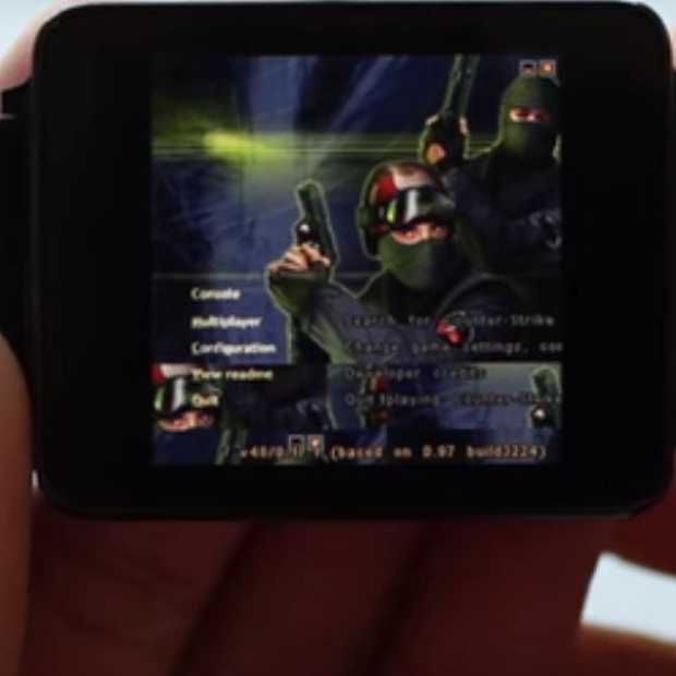 Je kunt nu Counter-Strike spelen op je Android Wear watch
