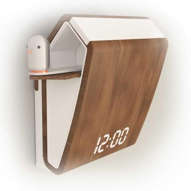 CuCu klok: de hippe versie van de koekoeksklok