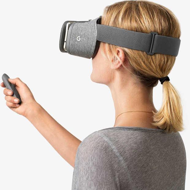 Daydream View, de nieuwe VR Headset van Google