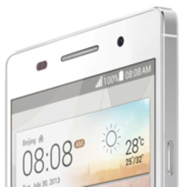 De Ascend P6 van Huawei is 's werelds dunste smartphone
