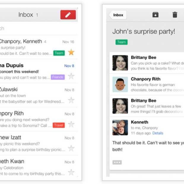 De Gmail 2.0 app voor iPhone en iPad