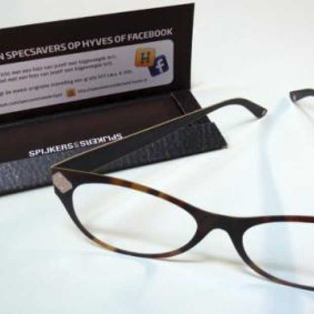 De kartonnen bril van Specsavers