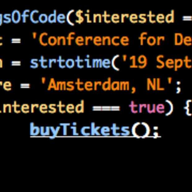 De Kings of Code conference