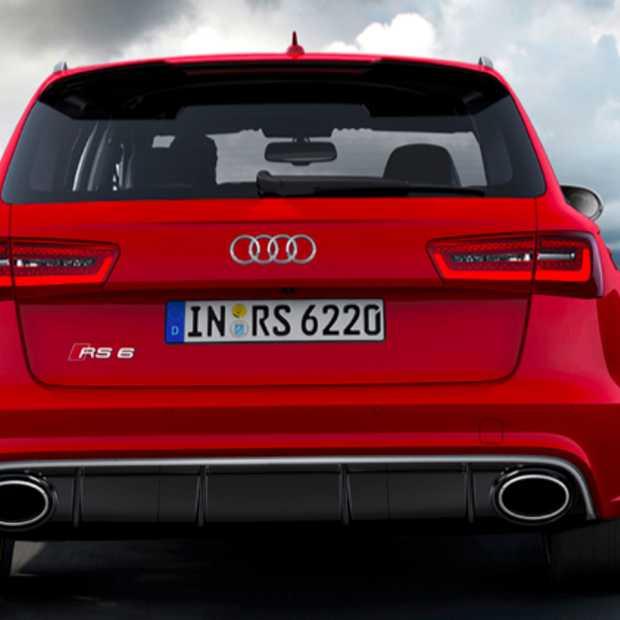 De nieuwe Audi RS 6 Avant: Topsnelheid 305 km/u