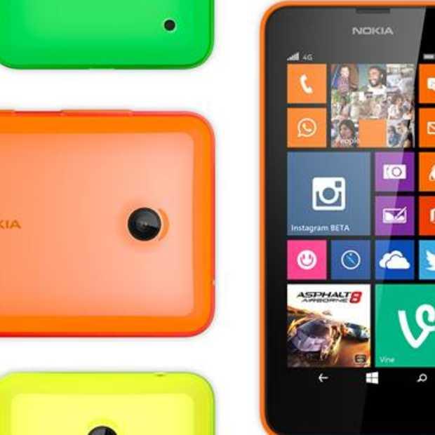 De Nokia Lumia 635 nu beschikbaar in Nederland