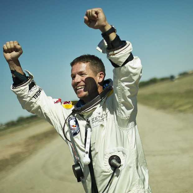 De Red Bull Stratos Space Jump verbreekt records