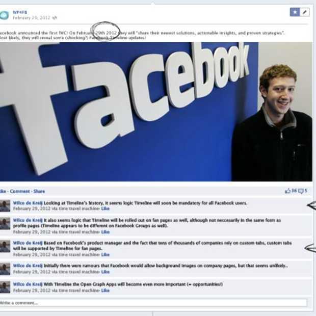 De toekomst van Facebook Timeline [Infographic]
