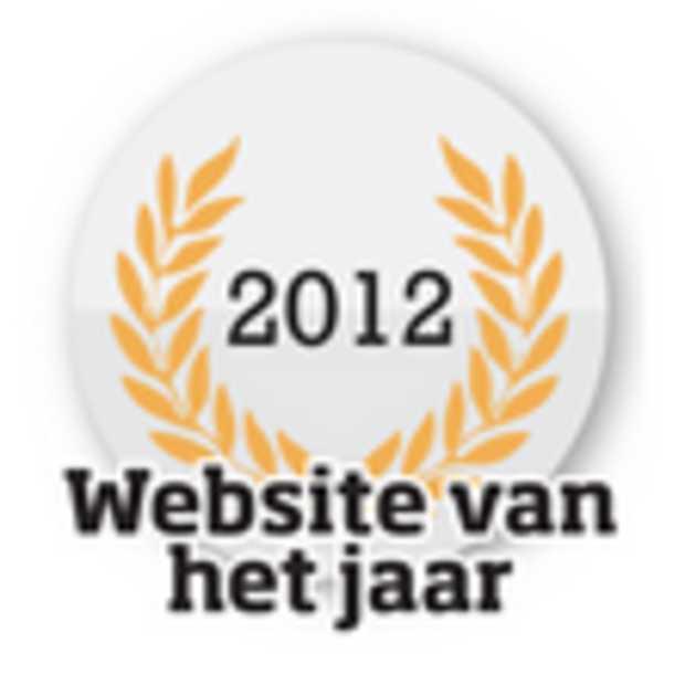 De website van het jaar nominaties zijn bekend