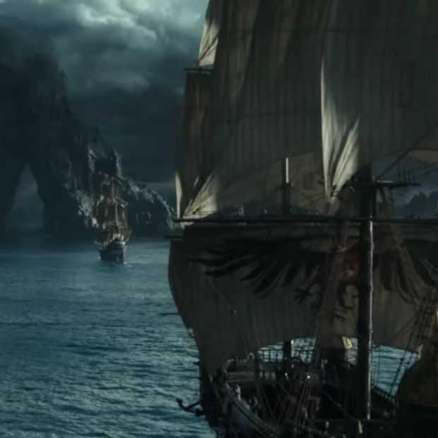 Teaser van de nieuwe Pirates Of The Caribbean