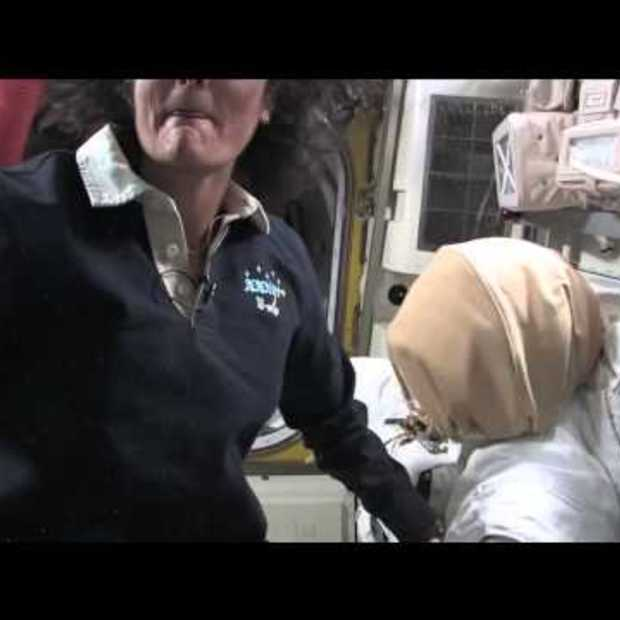 25 minuten durende tour door het International Space Station
