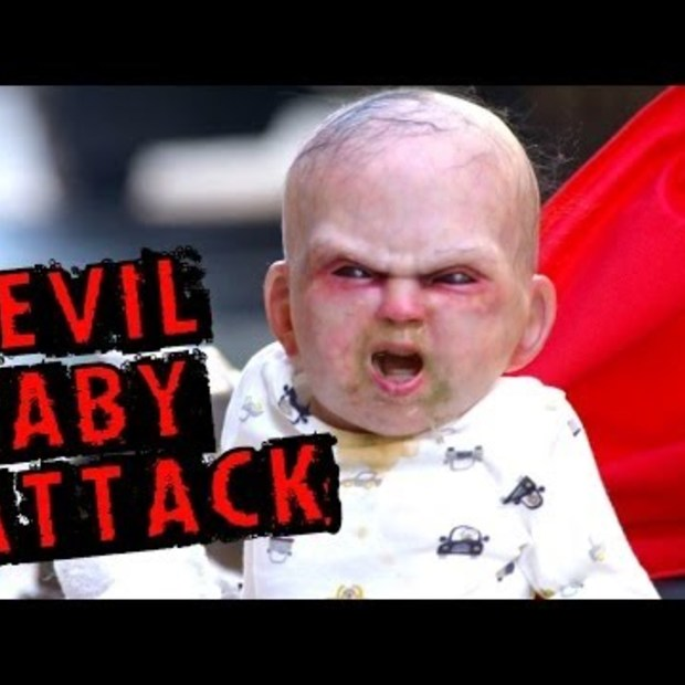 Going viral: Devil Baby Attack