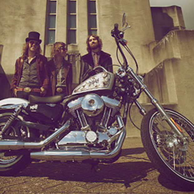 DeWolff en Harley-Davidson Seventy-Two