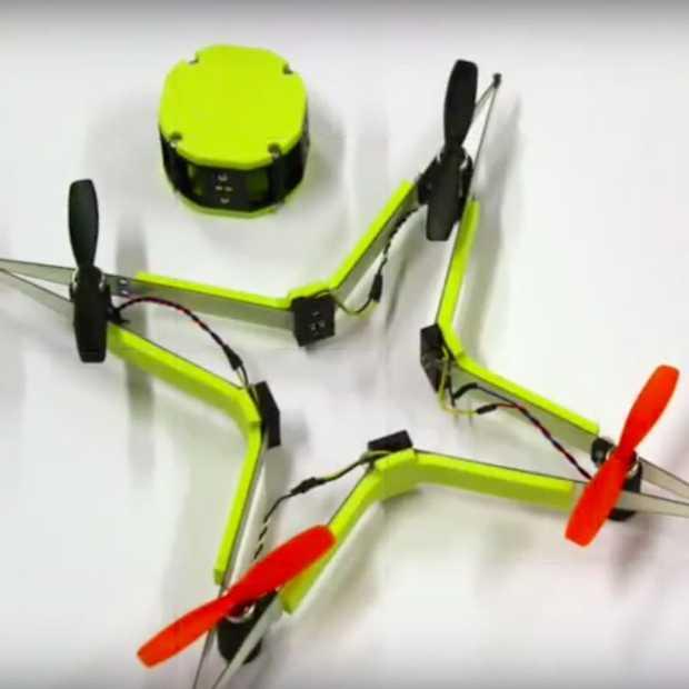 Deze drone raapt zichzelf bij elkaar na een flinke crash
