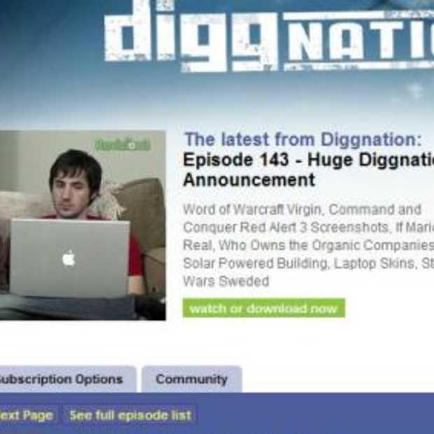 DIGGnation social networking-show vanaf NextWeb 3 april
